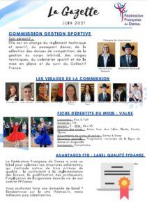 FFDanse – La Gazette – Juin 2021