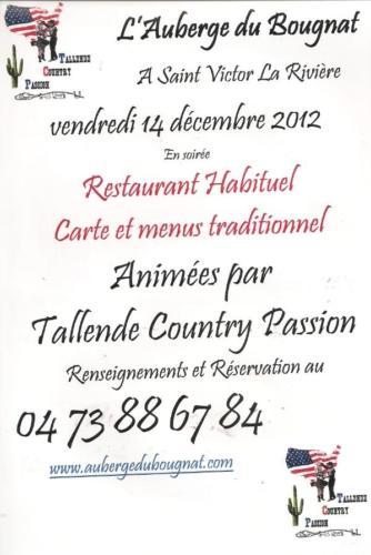 Saint-Victor-la-Rivière (63) - Vendredi 14 décembre 2012