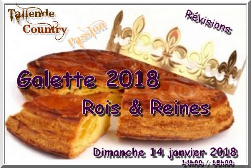 TALLENDE (63) - Galette 2018 - Dimanche 14 janvier 2018